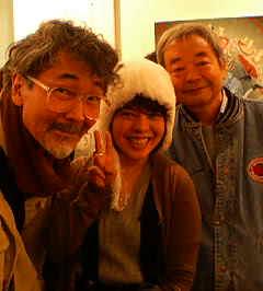 四谷シモンさん、和田誠さんと♪