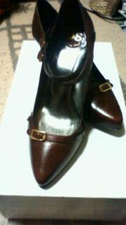靴買っちゃった〜^ロ^