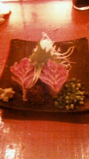 渋谷で秋刀魚のお刺身