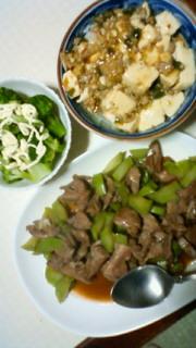 今日の晩飯